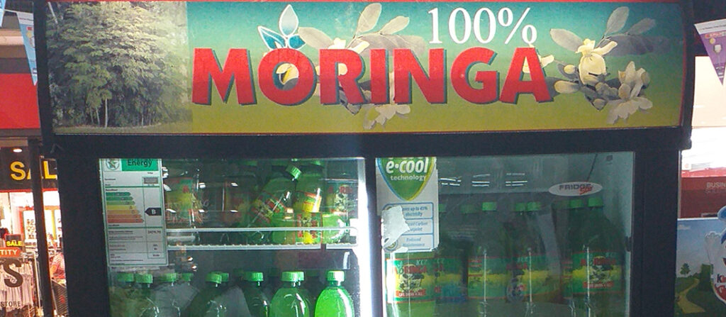 100% Moringa Juice to create more jobs